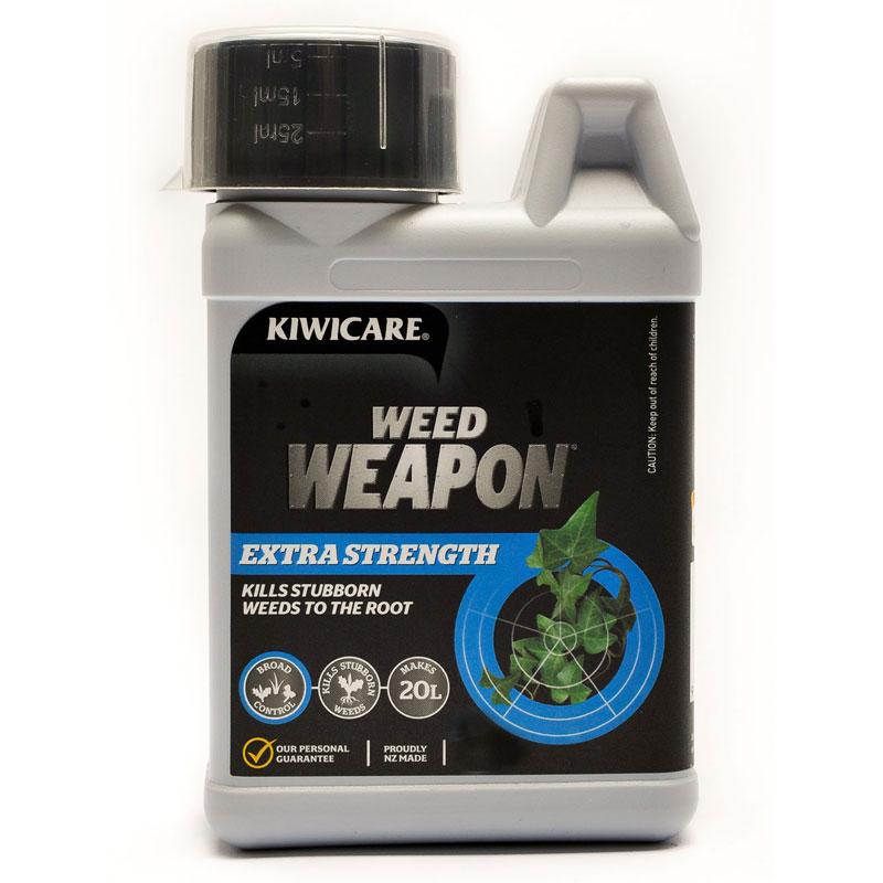 Weed Weapon Extra Strength. Kill ...